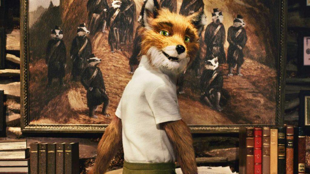 4. Бесподобный мистер Фокс (2009)